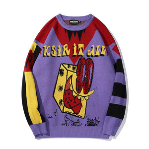 """KSIR IT ALL"" CHIC SWEATER"
