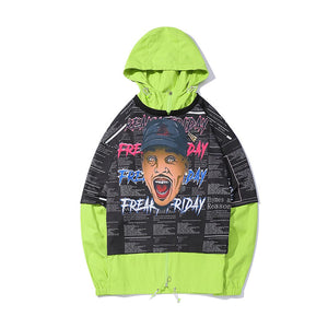 """FREAK FRIDAY"" PRINTED HOODIES"