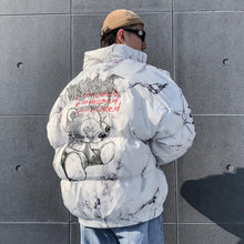 "Load image into Gallery viewer, ""ONE-EYED BEAR"" COTTON JACKET"