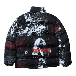 ANIME PRINTED COTTON JACKET