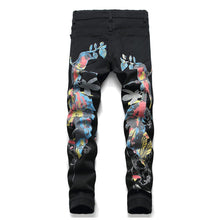 Load image into Gallery viewer, MAGPIE PRINTED SKINNY JEANS