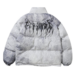 SPLASH INK COTTON JACKET