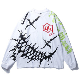 """45"" GRAFFITI SWEATSHIRT"