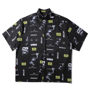 """SMOKING"" SHORT SLEEVE SHIRT"