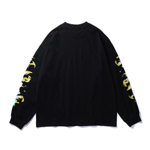 """FIRE SKULL"" SWEATSHIRT"