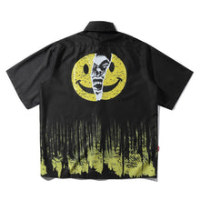 "Load image into Gallery viewer, ""DEVIL FACE"" SHORT SLEEVE SHIRT"