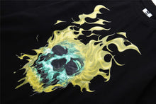 "Load image into Gallery viewer, ""FIRE SKULL"" SWEATSHIRT"