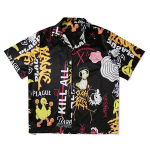 GRAFFITI SHORT SLEEVE SHIRT