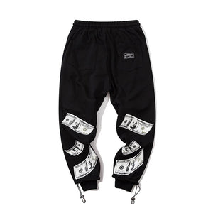 """DOLLAR"" GRAFFITI JOGGERS"