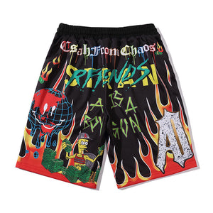 """DMNEY"" GRAFFITI SHORTS"