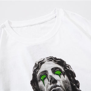 """STATUE"" PRINTED T-SHIRT"