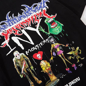 """MONSTER"" PRINTED T-SHIRT"