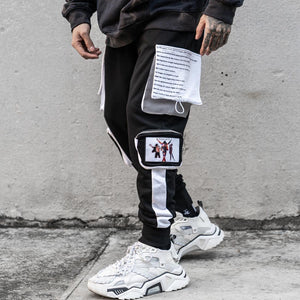 REFLECTIVE POCKETS JOGGERS