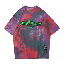 Load image into Gallery viewer, ALIENS PRINTED TIE DYE T-SHIRT