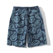 "Load image into Gallery viewer, ""SMILEY"" PRINTED SHORTS"