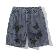 "Load image into Gallery viewer, ""BUTTERFLY"" PRINTED SHORTS"
