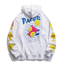 "Load image into Gallery viewer, ""PACER"" PRINTED SWEATER JACKET"