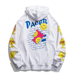 """PACER"" PRINTED SWEATER JACKET"