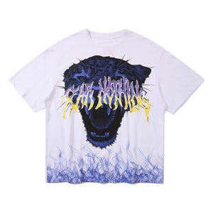 """TIGER"" PRINTED T-SHIRT"