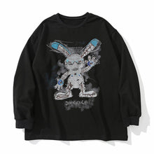 "Load image into Gallery viewer, ""RABBIT"" PRINTED SWEATSHIRT"
