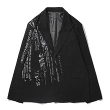 Load image into Gallery viewer, PRINTED BLAZER  JACKET