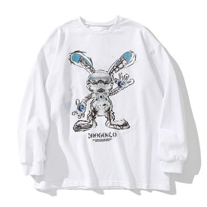 """RABBIT"" PRINTED SWEATSHIRT"