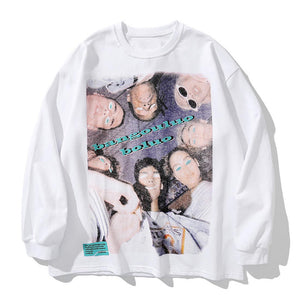 """PARTY"" PRINTED SWEATSHIRT"