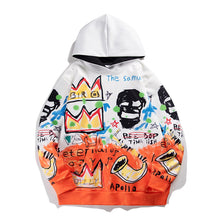 Load image into Gallery viewer, SKULL GRAFFITI PRINTED HOODIES