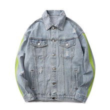 "Load image into Gallery viewer, ""38 BABY"" GRAFFITI DENIM JACKET"