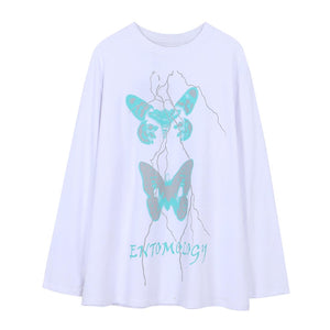 """ENTOMOLOGY"" PRINTED SWEATSHIRT"
