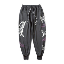 "Load image into Gallery viewer, ""BUTTERFLIES"" PRINTED JOGGERS"