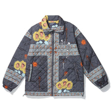 "Load image into Gallery viewer, ""SKULL"" PRINTED COTTON JACKET"