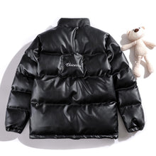 "Load image into Gallery viewer, ""BEAR DOLL"" PU COTTON JACKET"