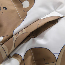 "Load image into Gallery viewer, ""BEARS"" PRINTED COTTON JACKET"