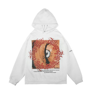 EYE PRINTED HOODIES