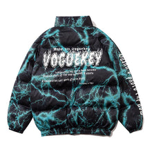 Load image into Gallery viewer, FLAME TIE DYE PRINTED COTTON JACKET