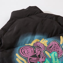 Load image into Gallery viewer, GRAFFITI PRINTED COTTON JACKET