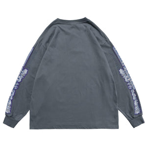 """SILVER ANGEL"" GRAFFITI SWEATSHIRT"