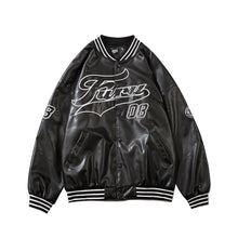 Load image into Gallery viewer, PU VARSITY JACKET