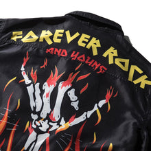 "Load image into Gallery viewer, ""FIRE FINGERS"" PRINTED JACKET"