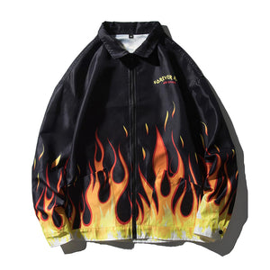 """FIRE FINGERS"" PRINTED JACKET"