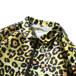 """LEOPARD"" PRINTED JACKET"