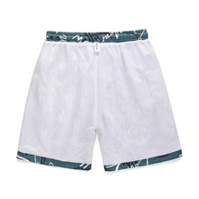 "Load image into Gallery viewer, ""WHITE CAT"" PRINTED SHORTS"