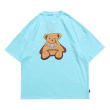 Load image into Gallery viewer, EMBROIDERY BEAR T-SHIRT