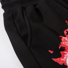 "Load image into Gallery viewer, ""RED SKULL"" PRINTED JOGGERS"