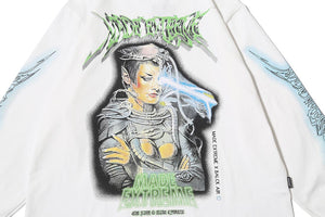 """FUTURE SOLDIER"" GRAFFITI SWEATSHIRT"