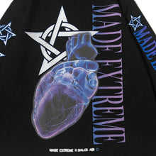 "Load image into Gallery viewer, ""HEART"" GRAFFITI SWEATSHIRT"