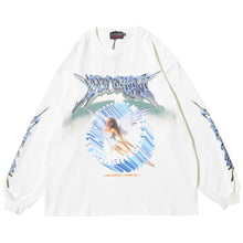 "Load image into Gallery viewer, ""ANGEL"" GRAFFITI SWEATSHIRT"