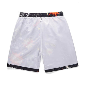 """BANG"" PRINTED SHORTS"