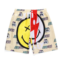 "Load image into Gallery viewer, ""LIGHTNING SMILE"" PRINTED SHORTS"